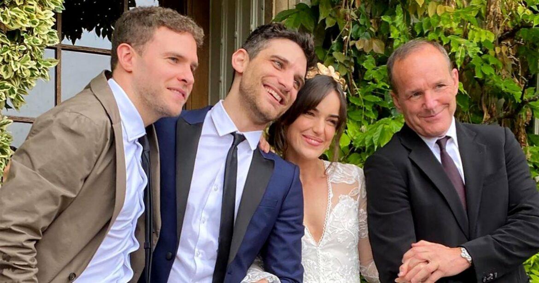 'Agents of SHIELD' Stars Reunite for Elizabeth Henstridge's Wedding