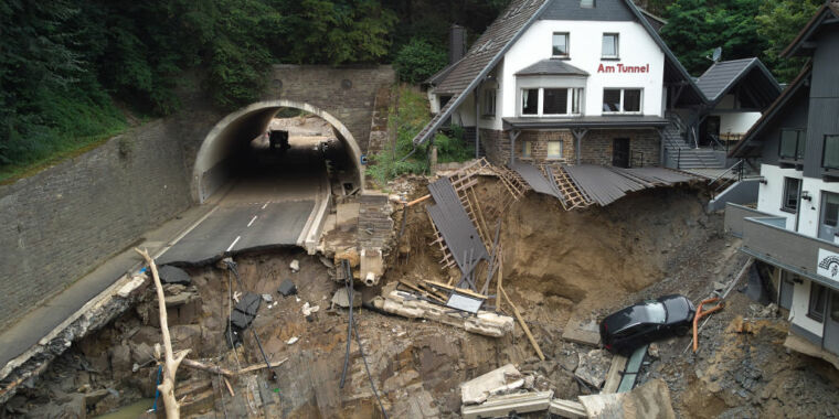 Europe's July floods: So rare and extreme, they're hard to study