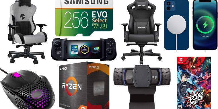 The weekend's best deals: Samsung microSD cards, gaming chairs, and more