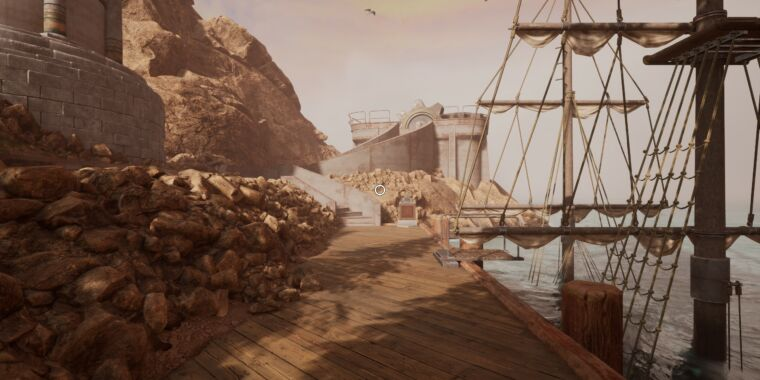 Myst remake impressions: Handsome island touch-ups, launch-week woes