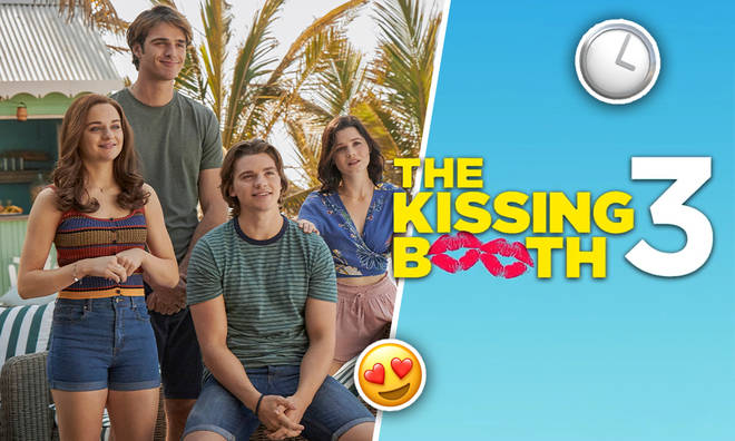 Who does Elle end up with in The Kissing Booth 3?