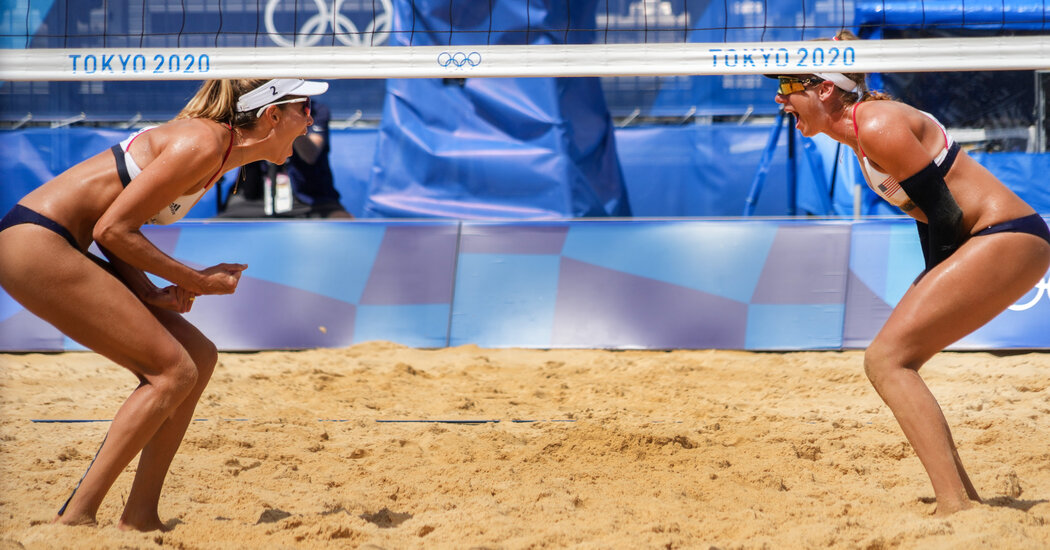 Beach Volleyball Duo Ross and Klineman Advance to the Semifinals