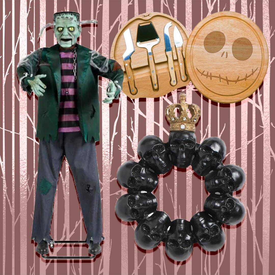 Creepy Cool Halloween Decor That's Giving Us All the Chills