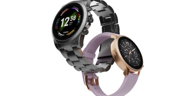 Fossil's Gen 6 smartwatches launch into an unforgiving Samsung Wear OS world