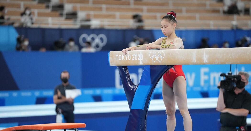 Guan Chenchen Wins Gold on Balance Beam. Simone Biles Takes Bronze.