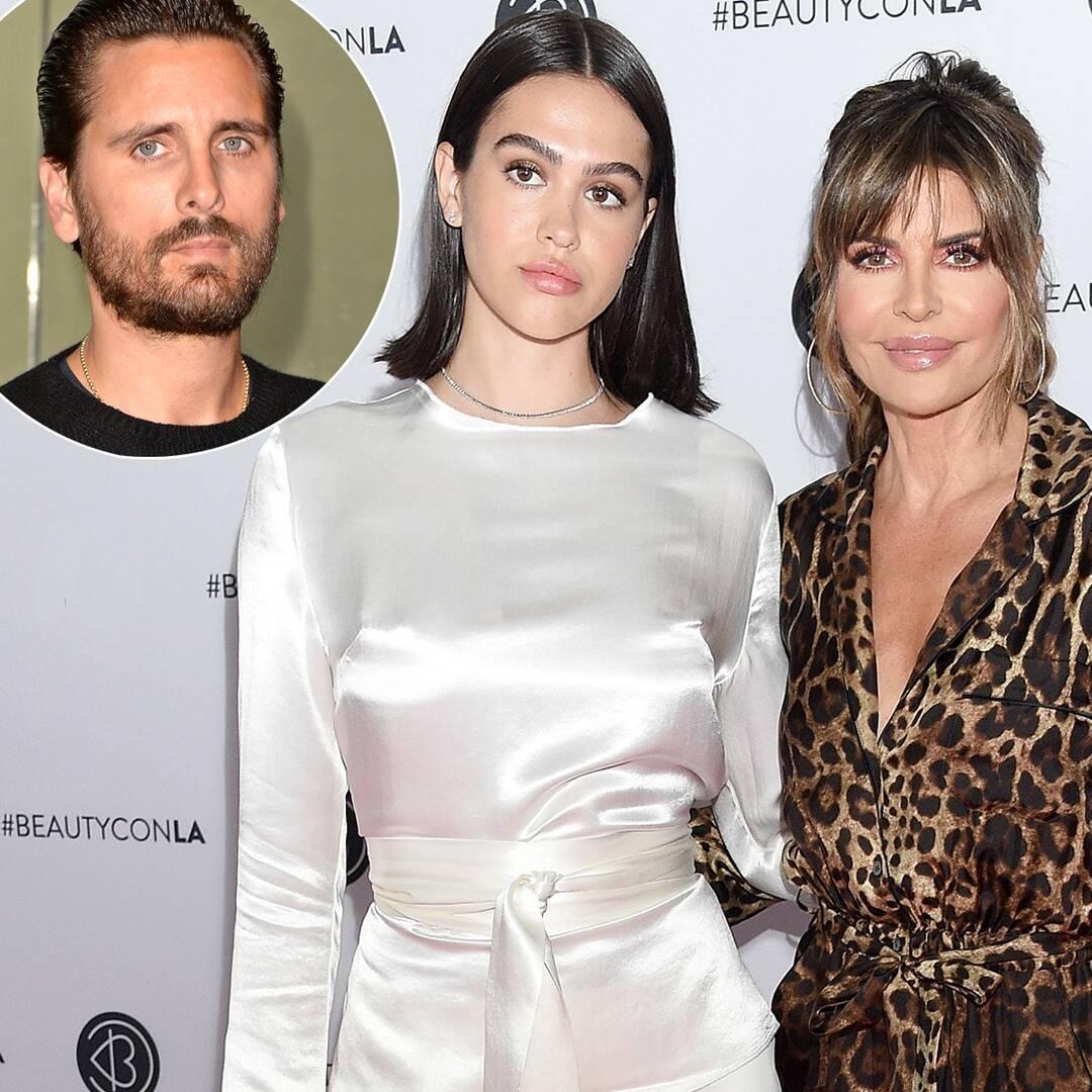 Lisa Rinna Comparing Daughter Amelia Hamlin's Boyfriend Scott Disick to Harry Styles Is Unforgettable