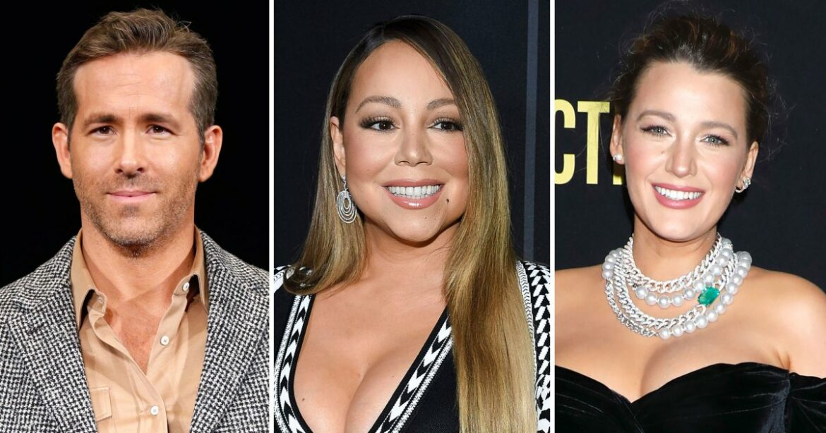 Ryan Reynolds Gushes Over Mariah Carey on Wife Blake Lively's Birthday