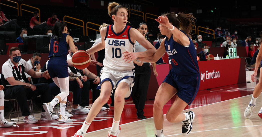 U.S. Women's Basketball Rolls Past Serbia to Olympic Final