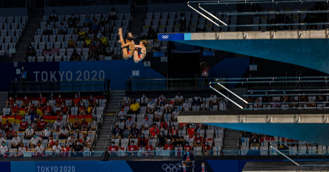 U.S. broadcast coverage on Monday includes beach volleyball and track and field.