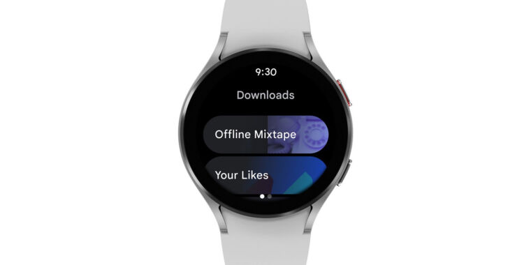 YouTube Music comes to Wear OS, but only for the Galaxy Watch 4