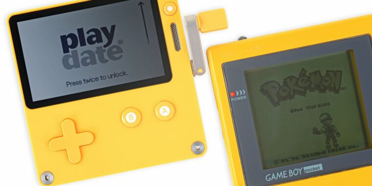 iFixit says the Playdate is a surprisingly repairable Game Boy throwback