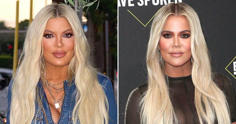 OMG! Tori Spelling FansSay She's Twinning With Khloe Kardashian
