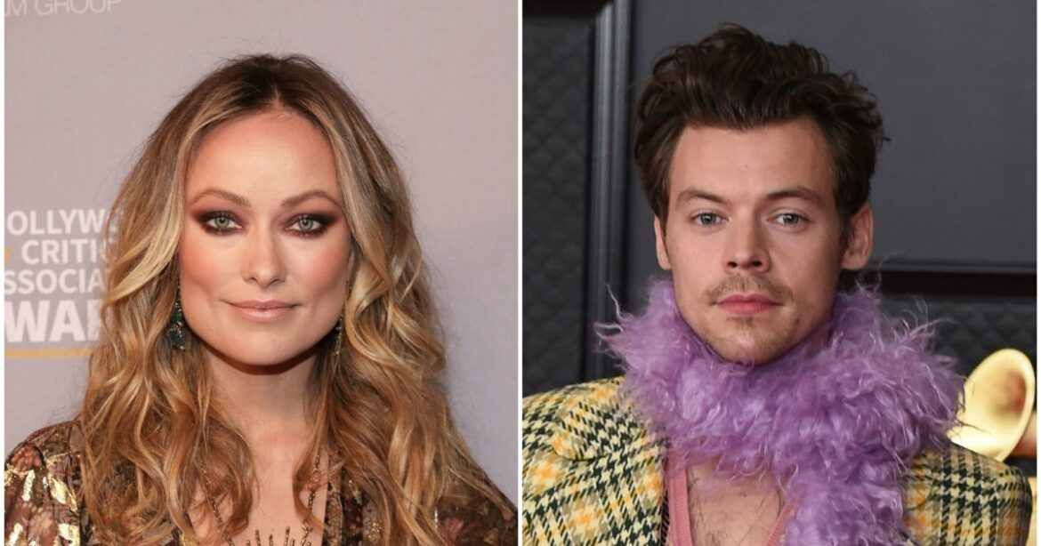 Olivia Wilde Supports Harry Styles at Love on Tour Concert in Las Vegas