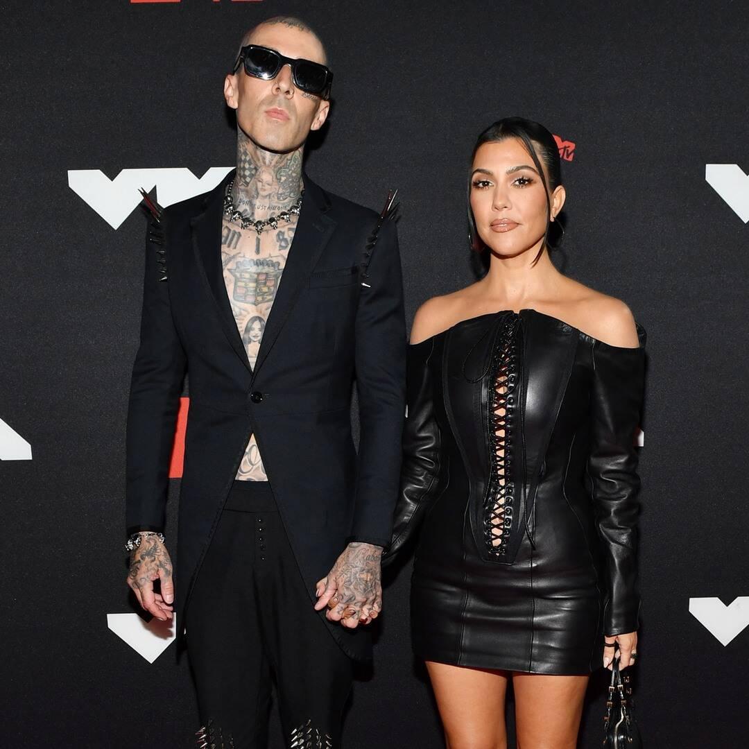 Kourtney Kardashian Shares Relatable Instagram vs. Reality Post With Boyfriend Travis Barker