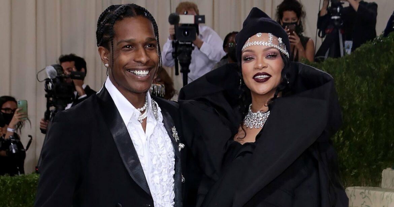 Slay! Rihanna and A$AP Rocky Turn Heads on Met Gala Red Carpet
