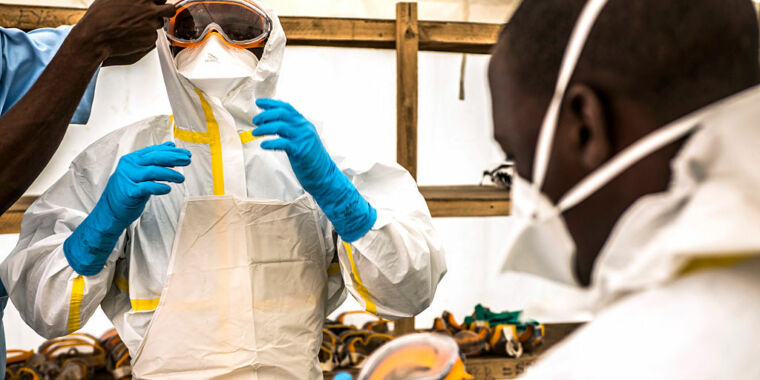 Recent Ebola outbreak emerged from someone infected 5 years earlier
