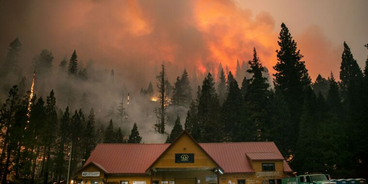 Fire weather is getting worse in the American West