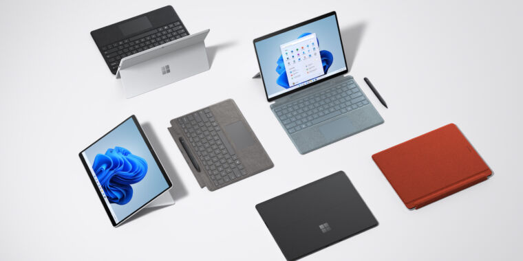 ARM-based Surface Pro X gets an $899 Wi-Fi-only model but few other upgrades
