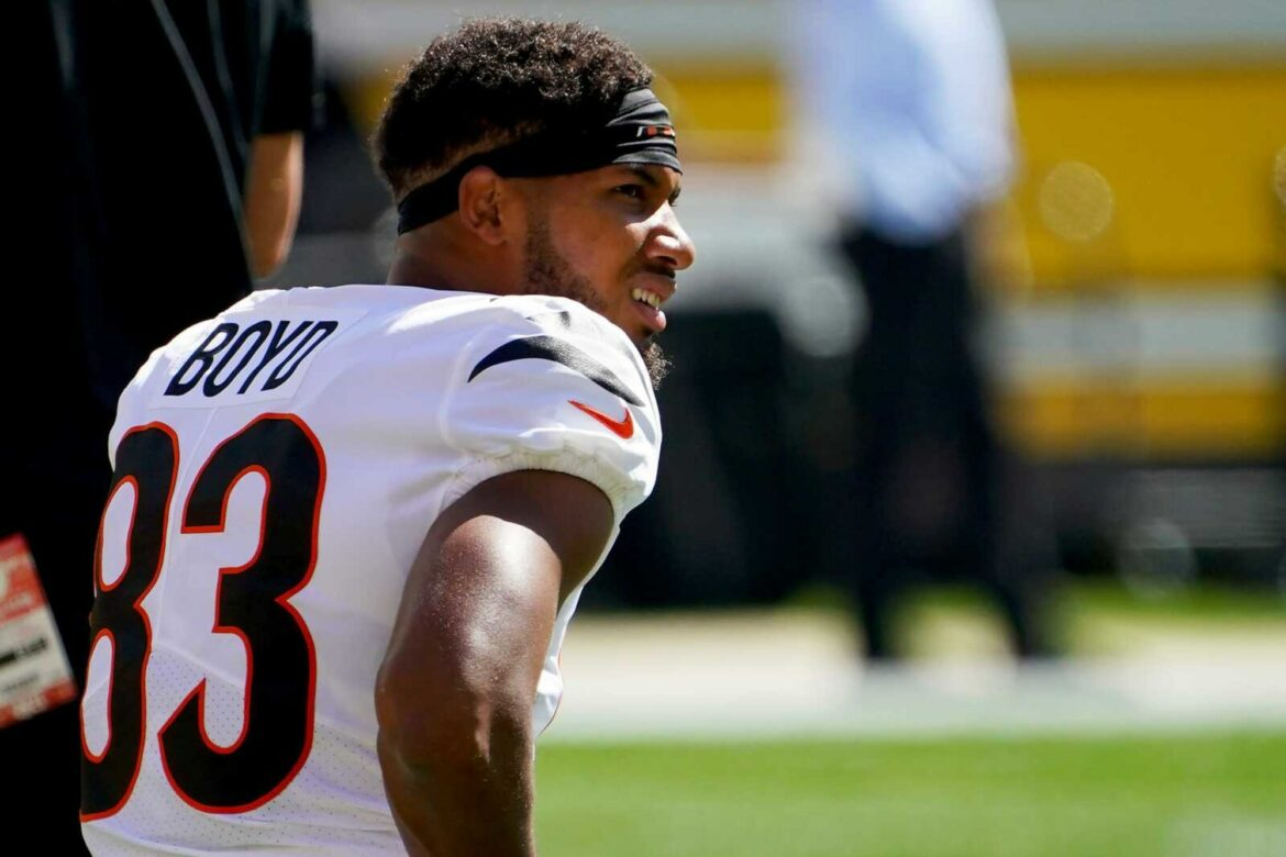 Tyler Boyd accuses Steelers of giving up in loss to Bengals