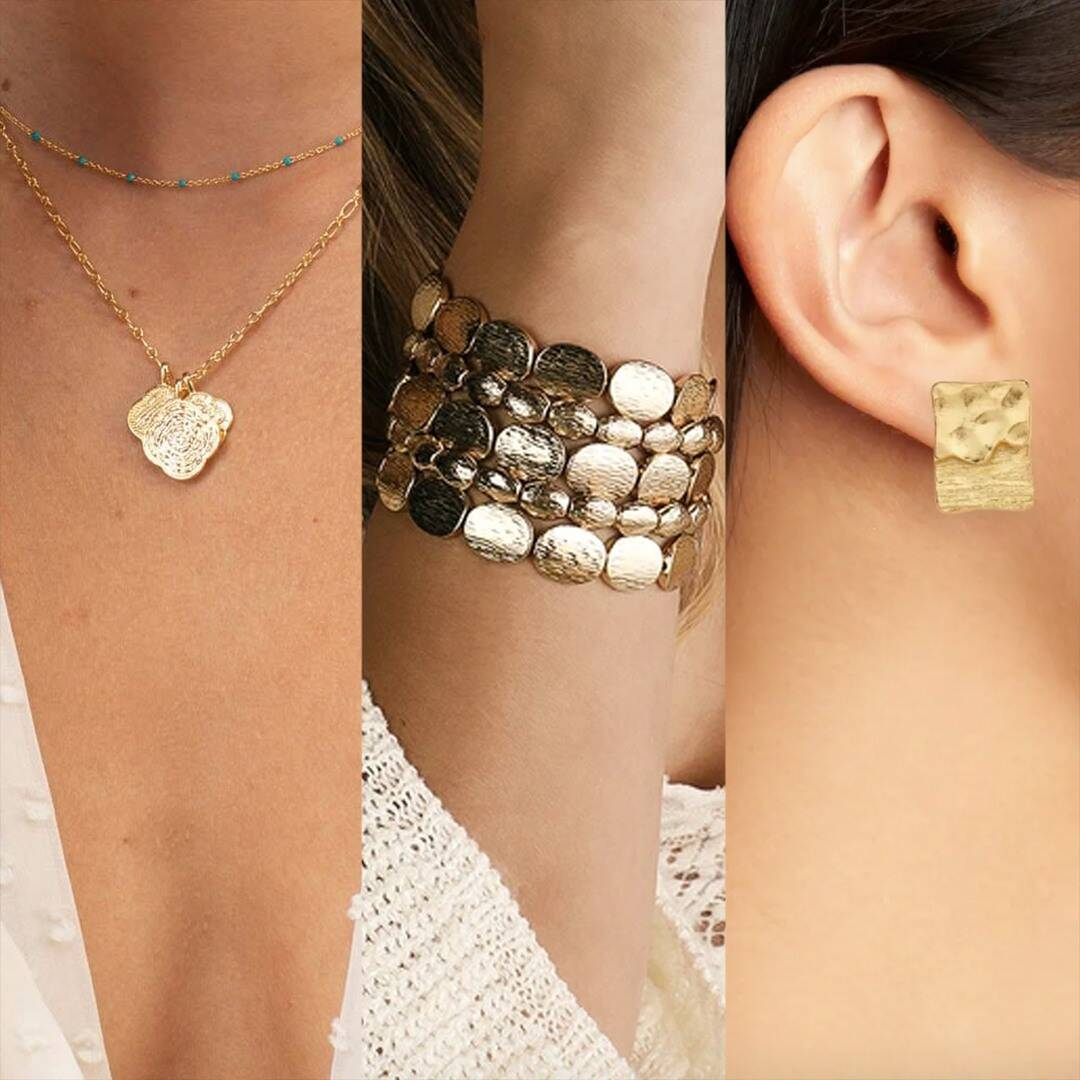 All About the Textured Jewelry Trend You'll See Everywhere This Fall
