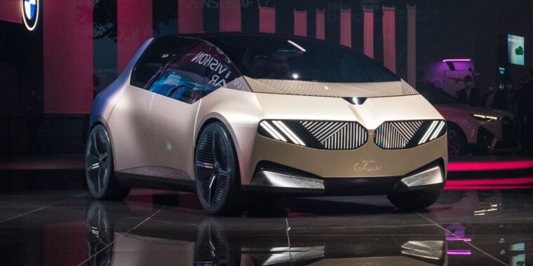BMW's i Vision Circular concept thinks about sustainable car-making
