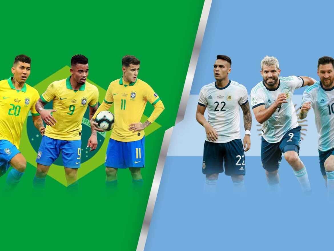 Brazil, Argentina, Ecuador win in CONMEBOL World Cup qualifying to keep clear