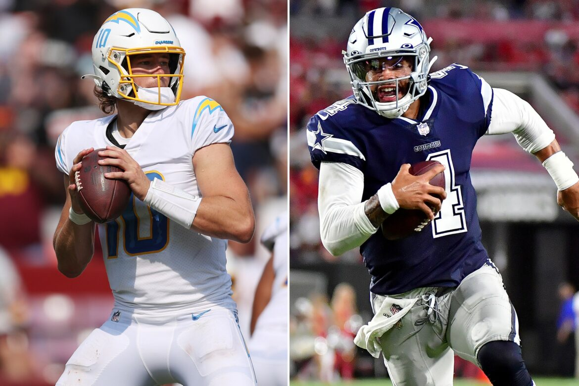 Cowboys vs. Chargers odds, prediction: Take advantage of this line