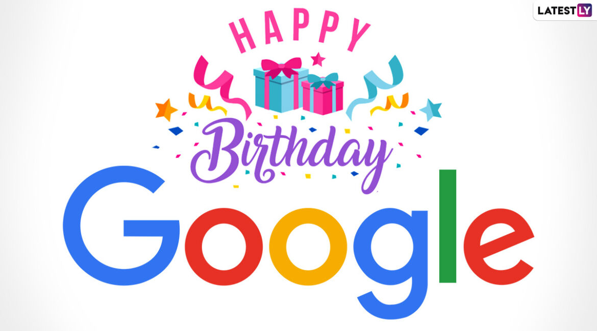 Google Doodle celebrates the search engine's 23rd birthday