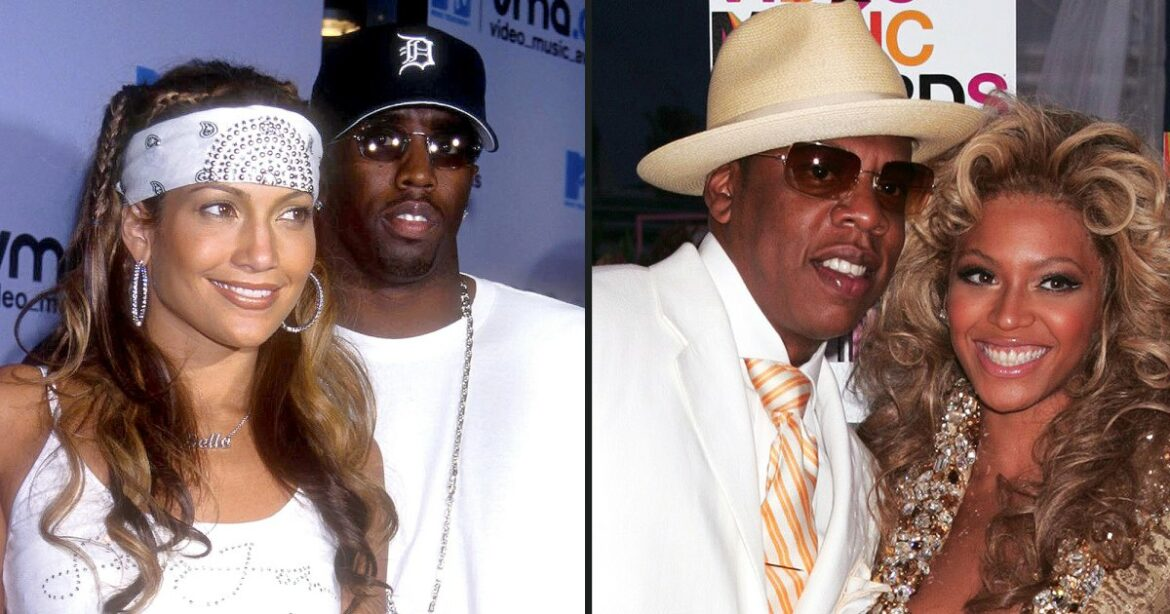 J. Lo and Diddy! Jay and Bey! Iconic Couples at the VMAs Over the Years