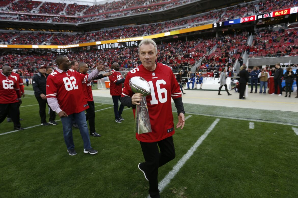 Joe Montana does not believe a 2-quarterback system can work for 49ers