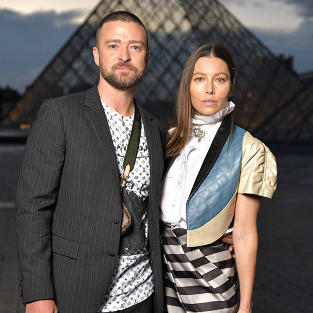Justin Timberlake and Jessica Biel Are Fierce Scrabble Competitors in Adorable Photos