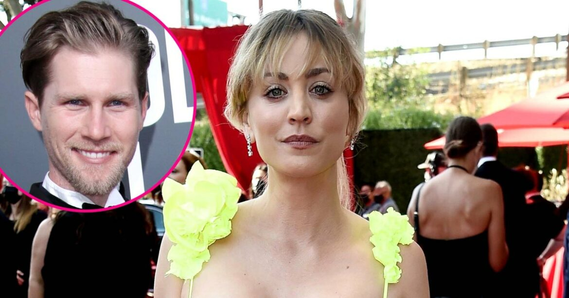 Kaley Cuoco Shines in Bright Yellow on Emmys Carpet After Karl Cook Split
