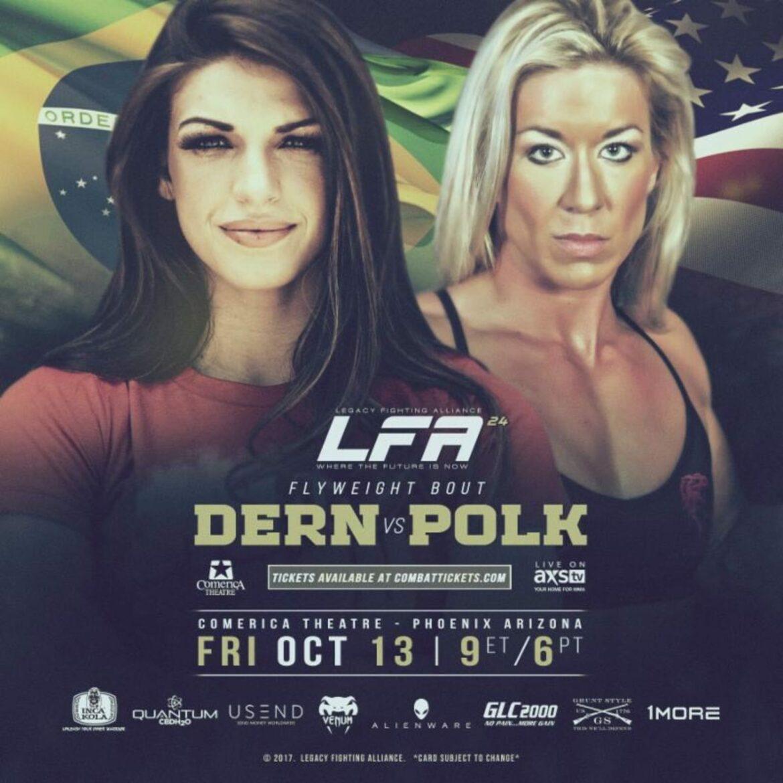 LFA 24: Mackenzie Dern making the move to flyweight