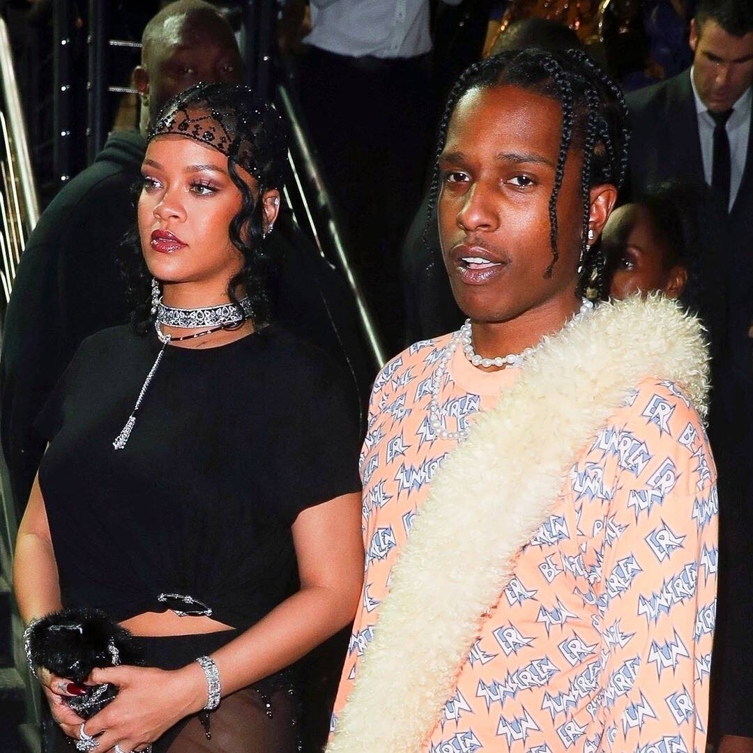 Rihanna Dares to Bare in Ultra-Sheer Met Gala After-Party Look With A$AP Rocky