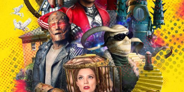 Michelle Gomez is a time-traveling Madame Rouge in Doom Patrol S3 trailer