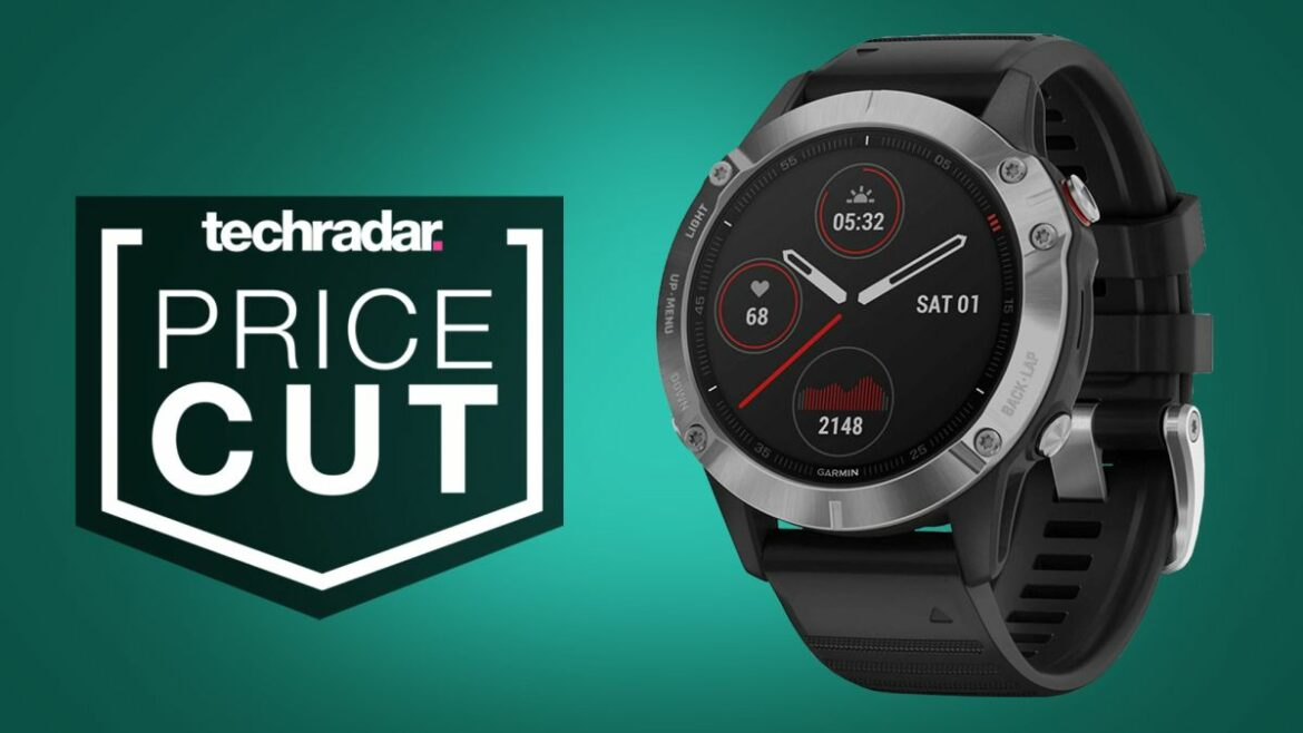 Never wait for Black Friday – help save £200 off the Garmin Fenix 6 ideal now
