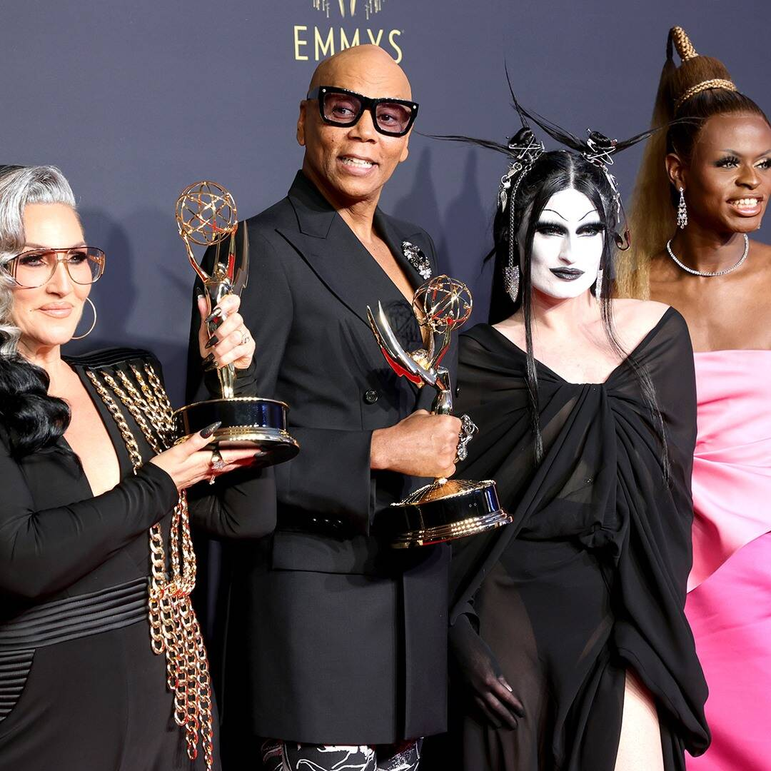 RuPaul Makes Emmys History With Most Wins By a Black Artist