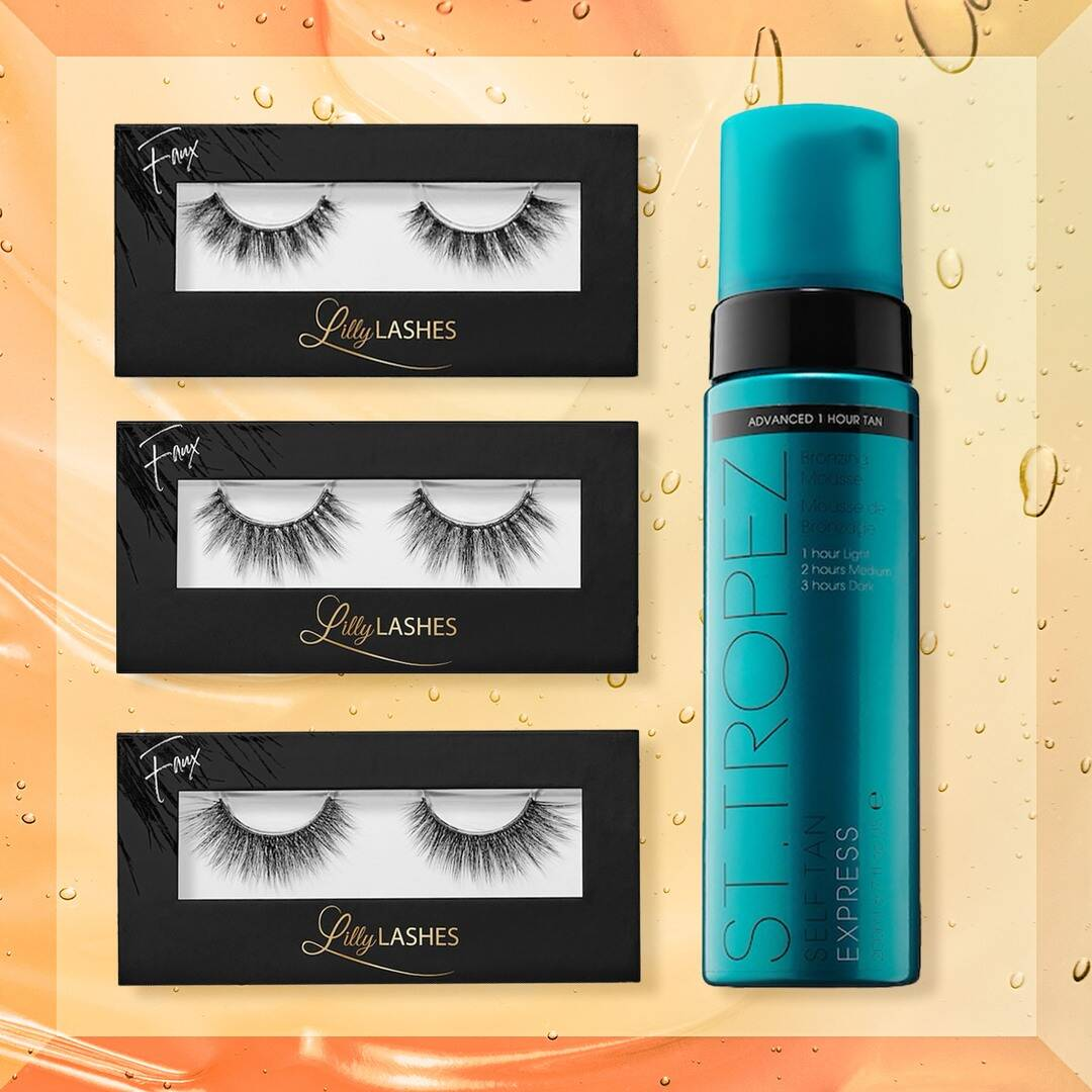 Sephora's Oh Snap! Sale: Get 50% Off St. Tropez & Lilly Lashes