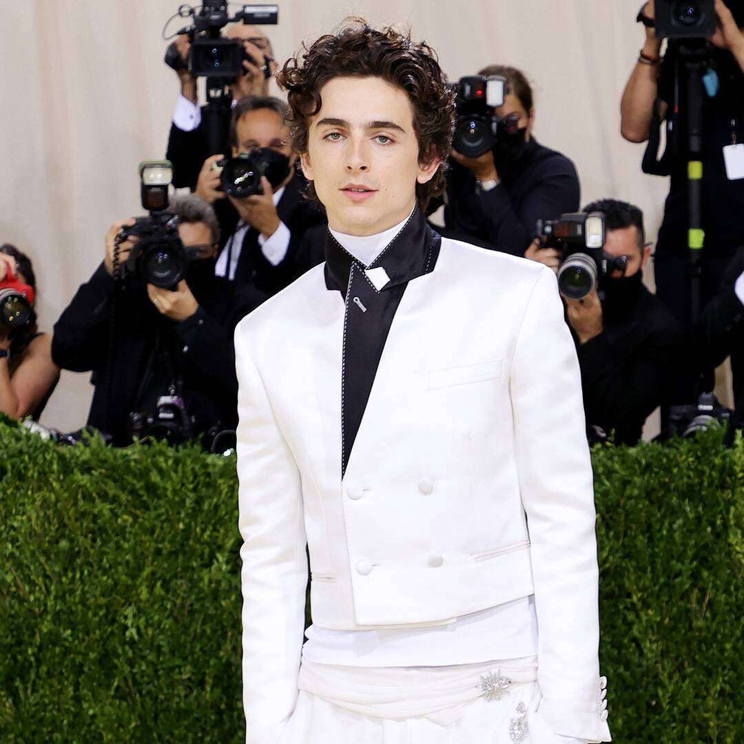Timothée Chalamet's High-Top Converse Are the First Breakout Stars of the 2021 Met Gala