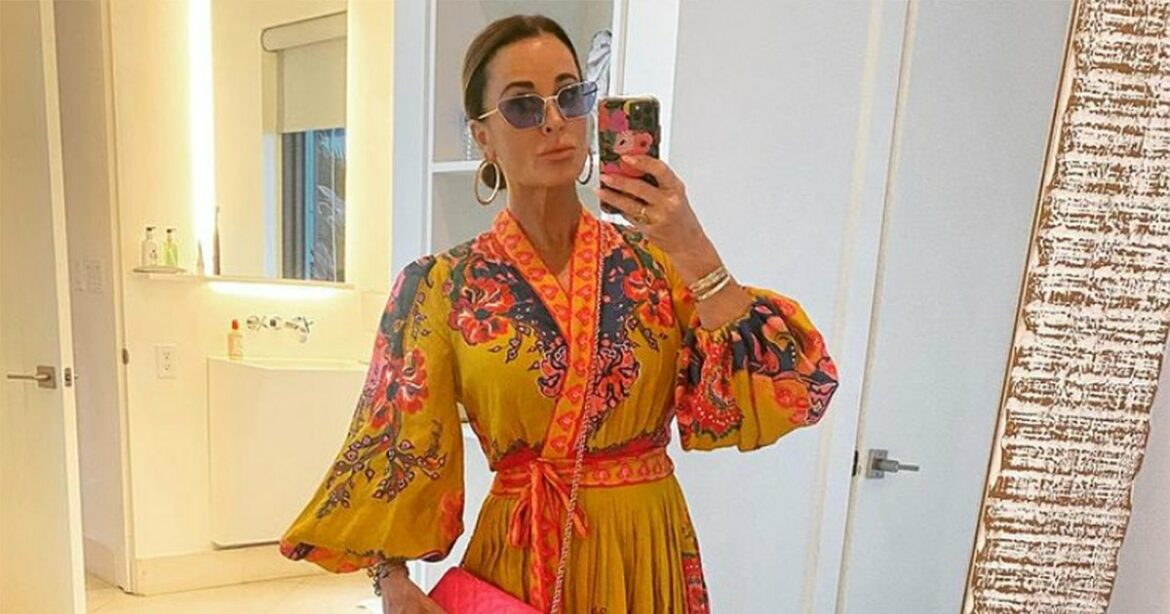 Treat Yourself With Kyle Richards' Favorite 24K Gold Eye Patches