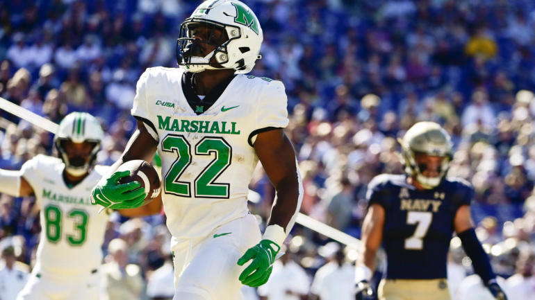 Marshall vs. Appalachian State odds, line: 2021 college football picks, predictions from model on 72-58 run