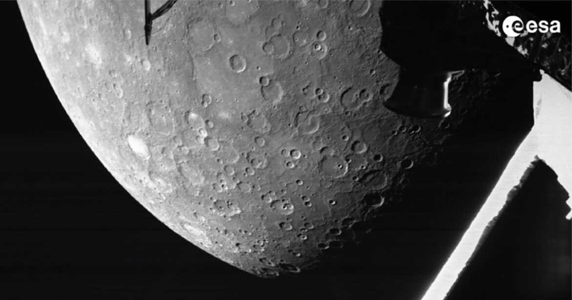 See Mercury up close as BepiColombo space mission beams back sweet image
