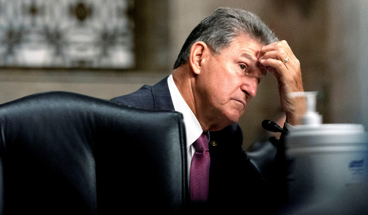 Manchin Says He Won't Rule Out Support for a Spending Bill Larger Than $1.5 Trillion