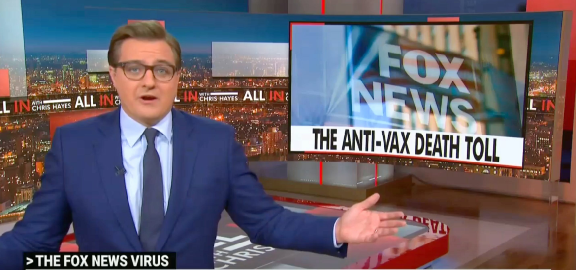 Chris Hayes Rips 'Vaccine Public Enemy Number One' Tucker Carlson