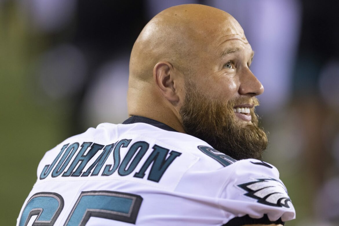 Eagles could be without Lane Johnson once again this weekend