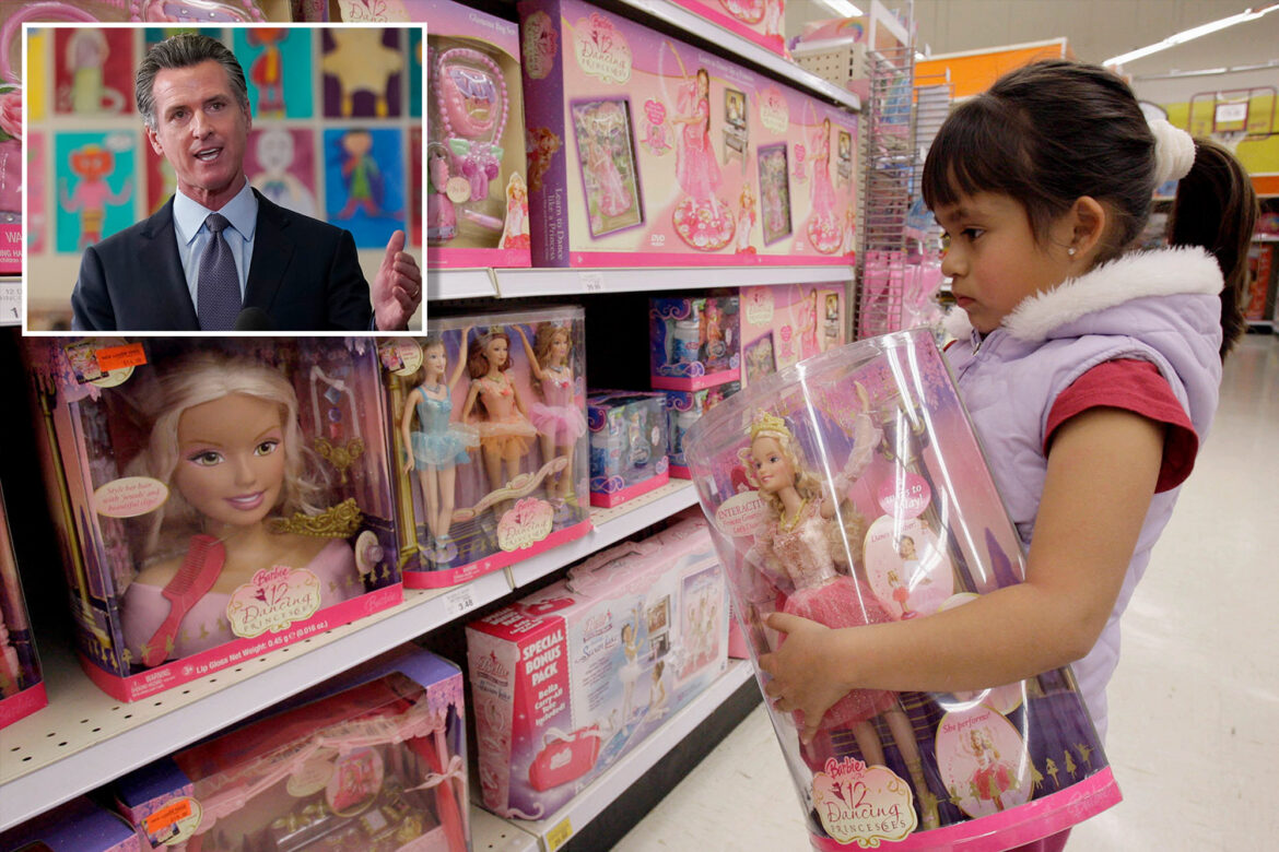 California law requires stores have gender-neutral area for children's products