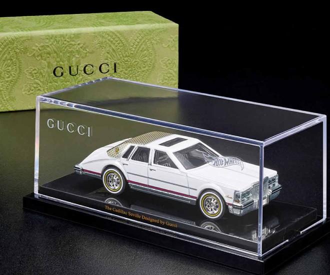 Gucci x Hot Wheels: Miniature Cadillac Seville