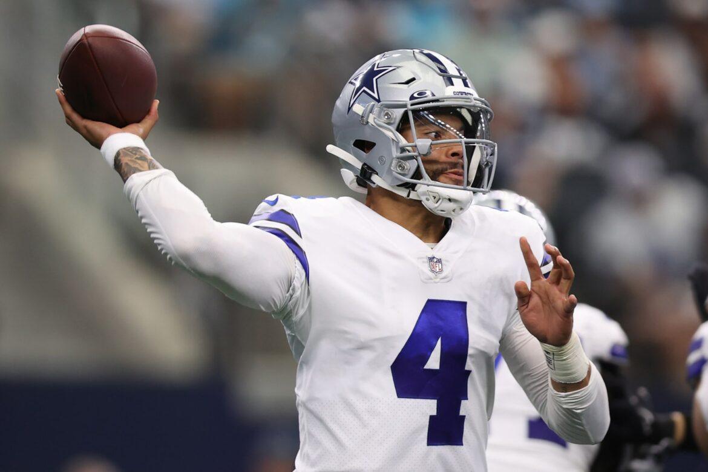 Dak Prescott injured calf on Cowboys game-winning touchdown