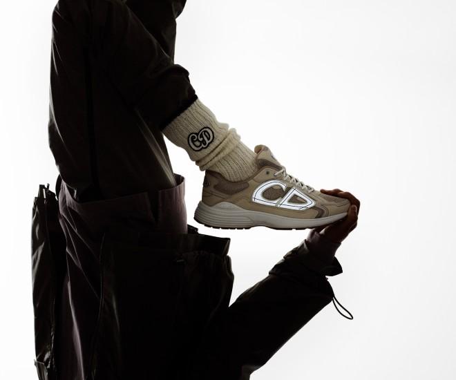 Dior Men's B30 Fuses Elegance and Athleticism