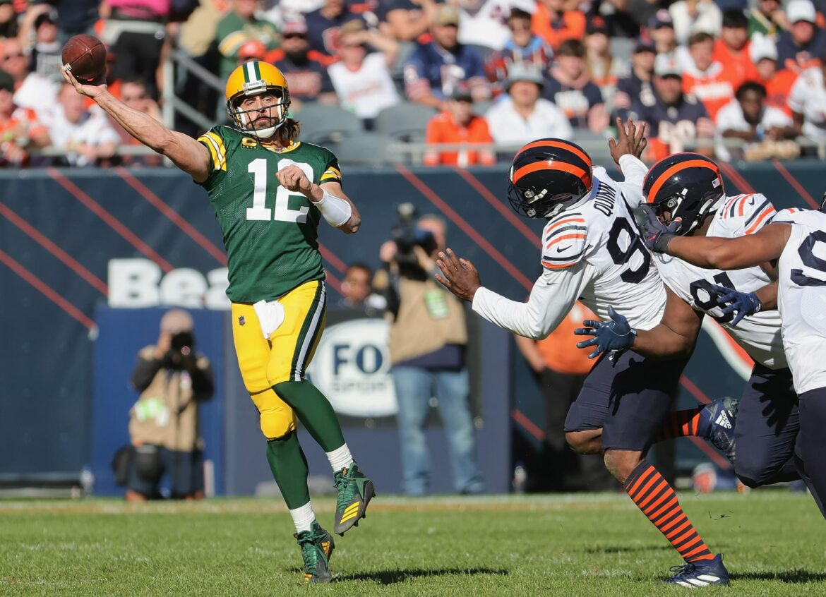Former Bears Pro Bowler wants to fight Aaron Rodgers for 'I own you' comment